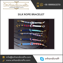 Durable Light Weighted Silk Rope Bracelet from Bulk Supplier