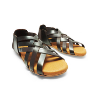 Comfort fashion ladies Sandals shoes in Genuine Leather
