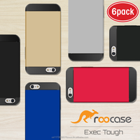 2016 Top Quality rooCASE Exec Tough Bumper TPU PC Armor case for iPhone 6 6s 4.7 inch (6 color pack) Whole sale