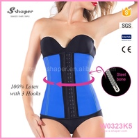 Wholesale Front Lace Up Hot Sex Women Photo Leather Corset W0323K5