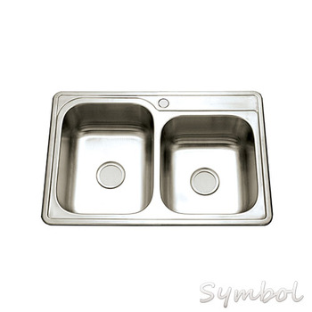 cupc stainless double drainer double l bowl steel kitchen sink with sink mat. beautiful ideas. Home Design Ideas