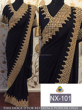 Wedding Wear Indian Saree Bollywood Designer Bridal sari womens dress