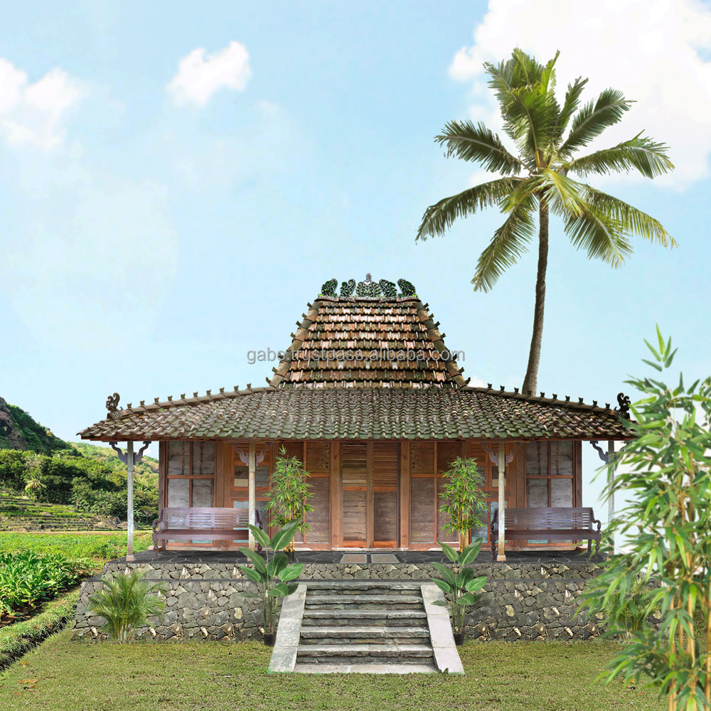 Javanese Antique House Huts No 3