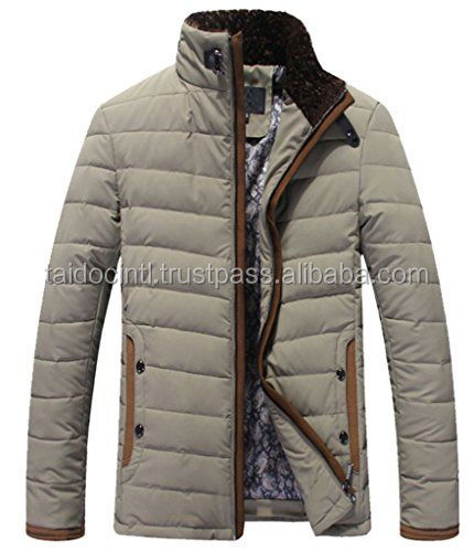 Men's Winter Warm Collar Down Jacket Coat/Casual And Winter Jackets/ Best quality by Taidoc international
