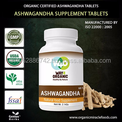 The Premium organic Indian Ginseng- Ashwagandha Tablets