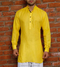 mens kurta - Ethnic Clothing Man Full Sleeve Wedding Kurta