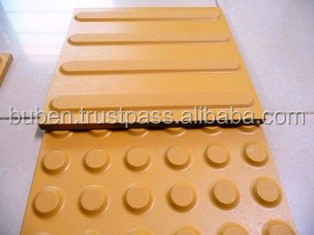 Sidewalk Floor Ceramic Tactile Subway Tile For Blind