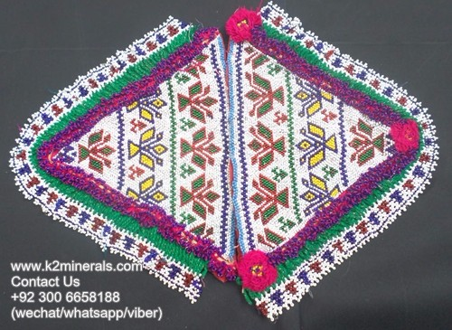 Afghan kuchi traditional dress style cloth banjara patch mo