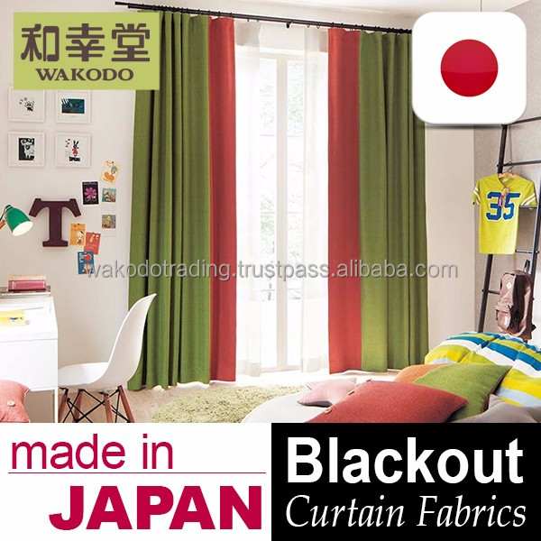 Washable and High Quality blackout drapery Curtain Fabric for home and hotel use , Samples also Available