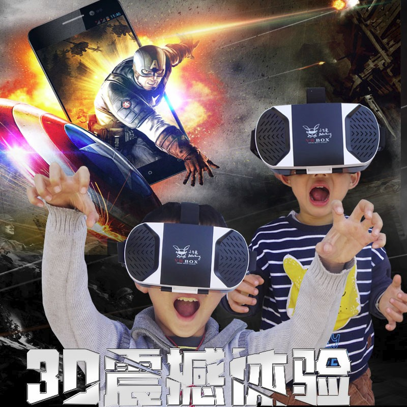 Wholesale VR headset/box for movie and game