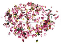 AA Quality Natural Multi Tourmaline 1 Carat Average Faceted Lot