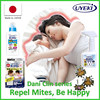 DaniClin natural dust mite repellant for pest control made in Japan