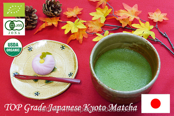 JAS Hot selling premium matcha green tea powder 20g tin can [TOP grade]