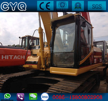 Used construction machinery used equipment Caterpillar 320B excavators for sale (whatsapp:0086-15800802908)