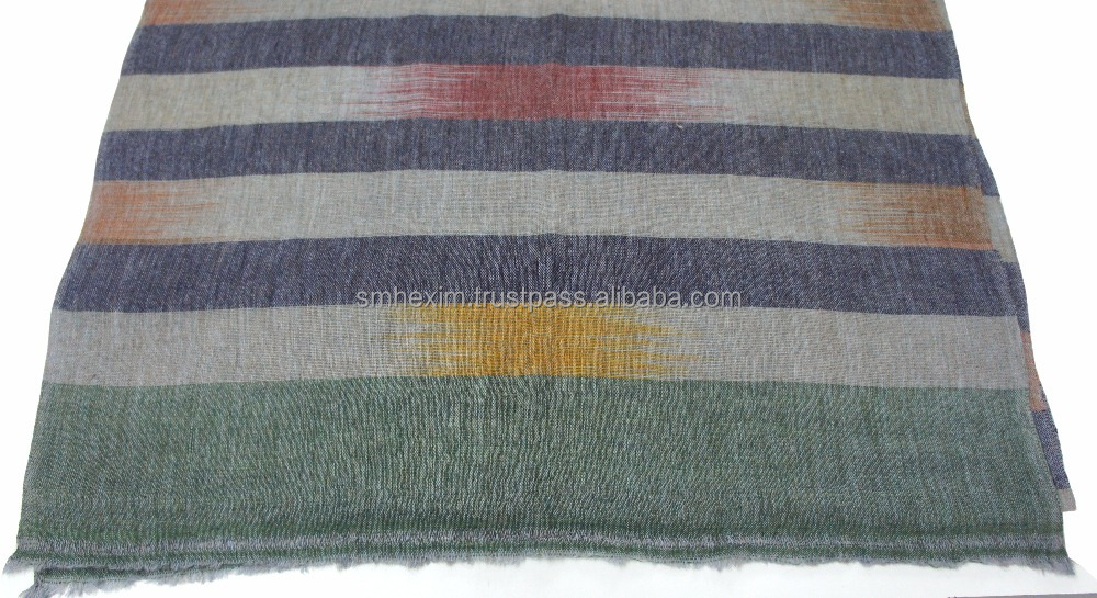 Soft Colours Indian Ekat Pashmina Scarf's/Stoles/Shawls