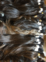 Bulk Hair Turkish Anatolian Full Cuticle Virgin Hair 12""