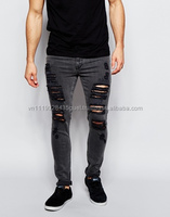 Hot sale 2016 fashion Stylish Skinny Cool jeans for men