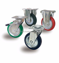 Reliable and Easy to use scaffold caster wheel with brake CASTER for Professional High-performance