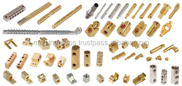 Brass Neutral Link / Bar & Connector for electric connection