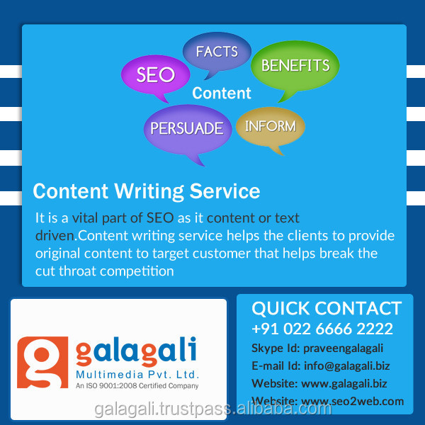 Search Engine Optimisation and Online Marketing Service from India