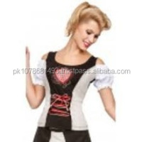 Ripe Custom Embroidery long Dirndl with blouse & apron / Trachten Dirndl Dress / Traditional Bavarian long Dirndl