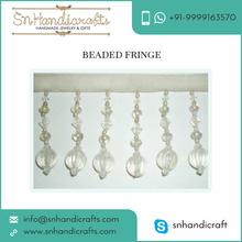 Wide Collection of Beaded Fringe Trim for Bulk Sale at Exclusive Range
