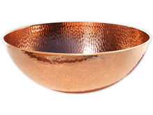 Pure Copper Hammered Bowl