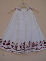 New Girls Party Dresses Kids Cotton And Embroidery Dress Children Spring Wear Girls Princes Dress