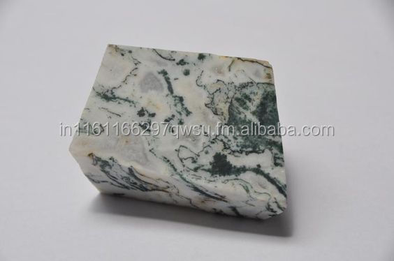 White green Chalcedony gemstone rough rocks minerals from indian mines