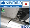 High quality and High precision turning parts Sumitomo inserts with excellent lubricity