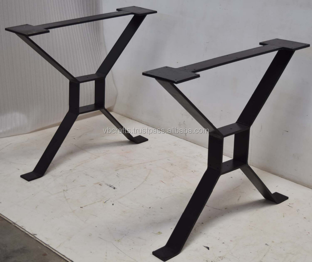 Wrought Iron Industrial Design X Legs