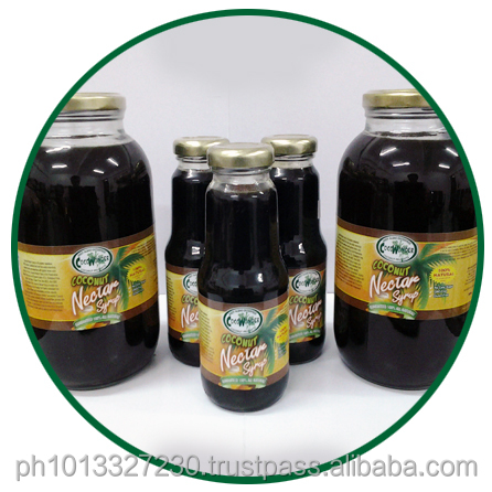 COCONUT NECTAR SYRUP - Pure, 100% Natural & Low Glycemic Index of 35