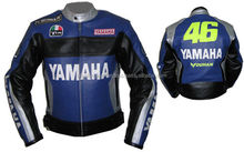 YAMAHA Motorcycle Leather Jacket Motorbike Racing jacket,CE,ARMOUR,COWHIDE