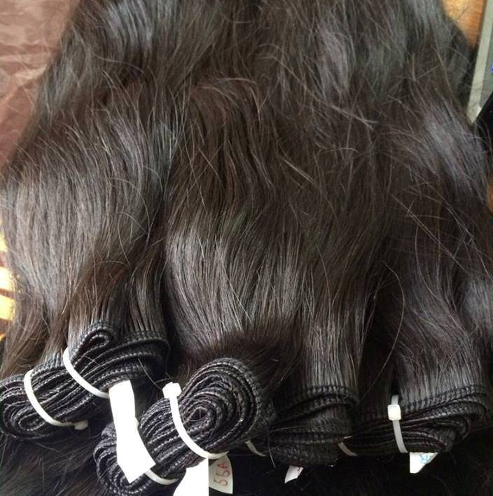 Indian factory Grade 7A hair products 100% human sew in remy virgin brazilian human hair extension