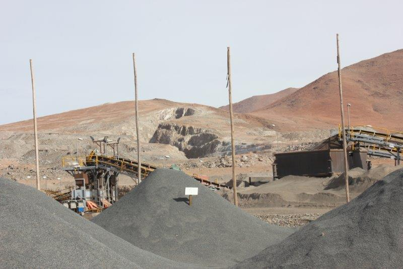 Iron Ore 62% minimum from Chile