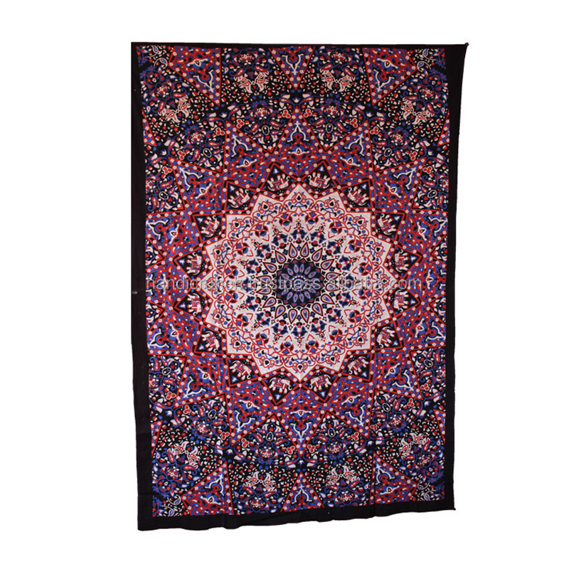 Star Tapestry Indian Bohemian Room Decor Tapestry