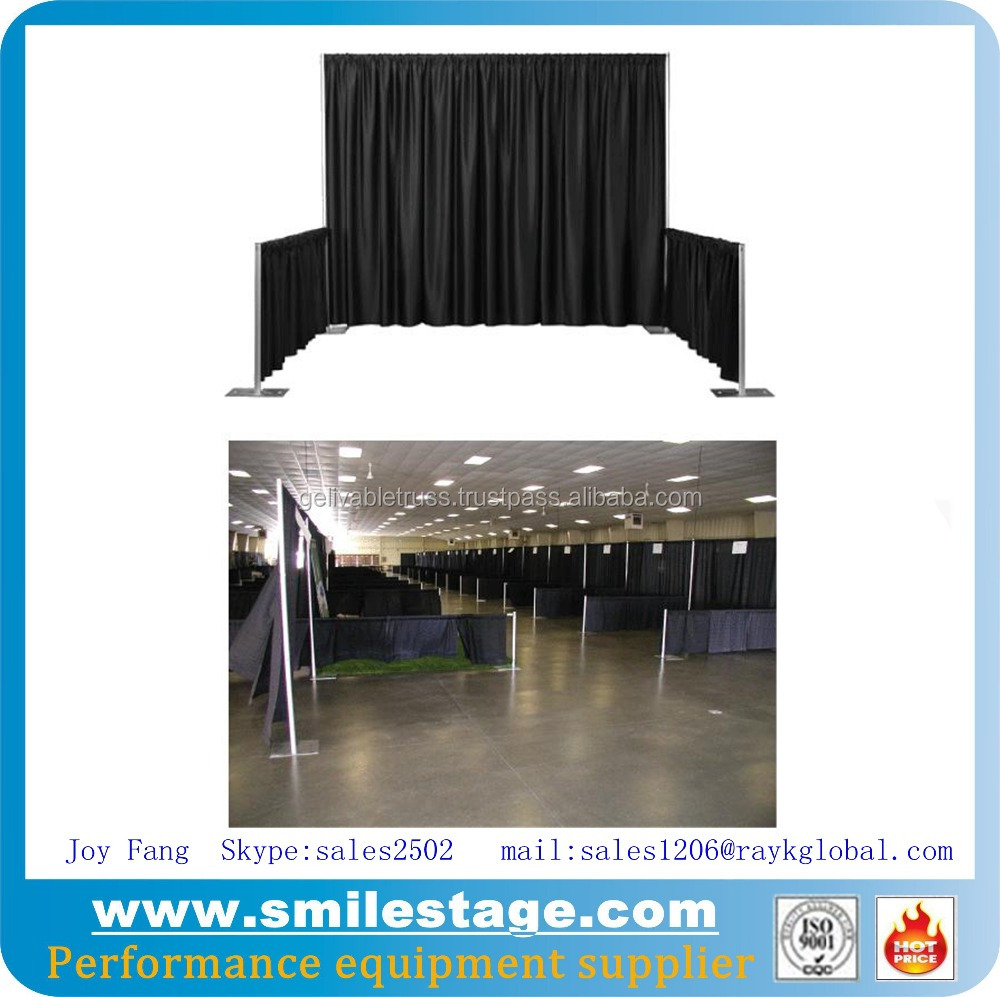 portable photo backdrops stands for modern exhibition booth