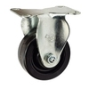 "3 Inch Rigid Caster - 3"" x 1.25"" Phenolic Wheel - 200 Lb Capacity"