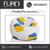 Fancy and Colorful Football Fan Armchair from Leading manufacture