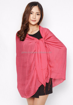Cheap Linen Scarf Wholesale, Lady Linen Scarf Made in Vietnam