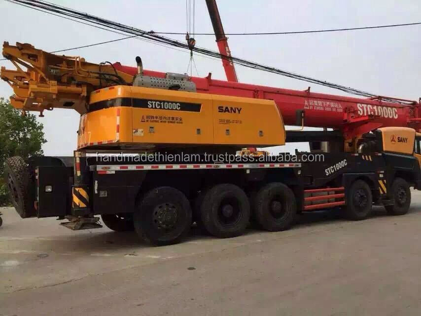 Used SANY STC1000C 100t Truck crane for sale