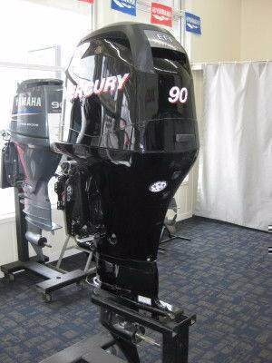 USED MERCURY 90 HP OUTBOARD MOTOR