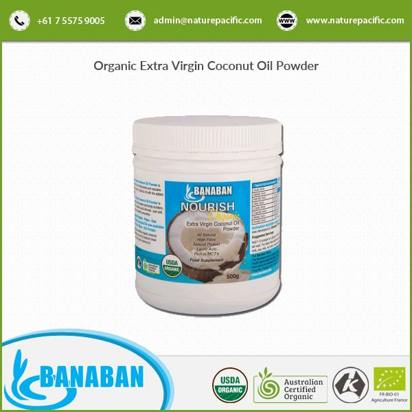 Australia Wholesale Organic Virgin Coconut Oil Powder BANABAN