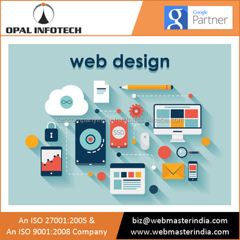 Advance and Future Proof Online Homepage Website Design from Indian Web Creation Agency