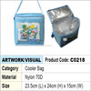 cooler bag / shoulder cooler bag with aluminium foil