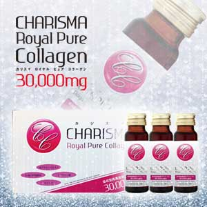 CHARISMA Royal Pure Collagen 30000mg Beauty Japan Collagen Drink