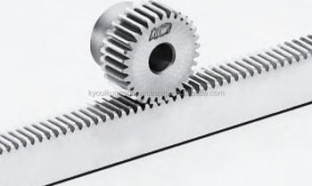 Rack gear Module 0.75 Stainless steel Length 200mm Made in Japan KG STOCK GEARS