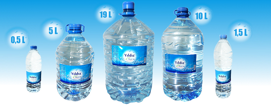 Turkish Natural Spring Water ( Drinking water )