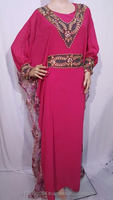 new beaded chiffon kaftan glamour beautiful maxi dress abaya jalabiya