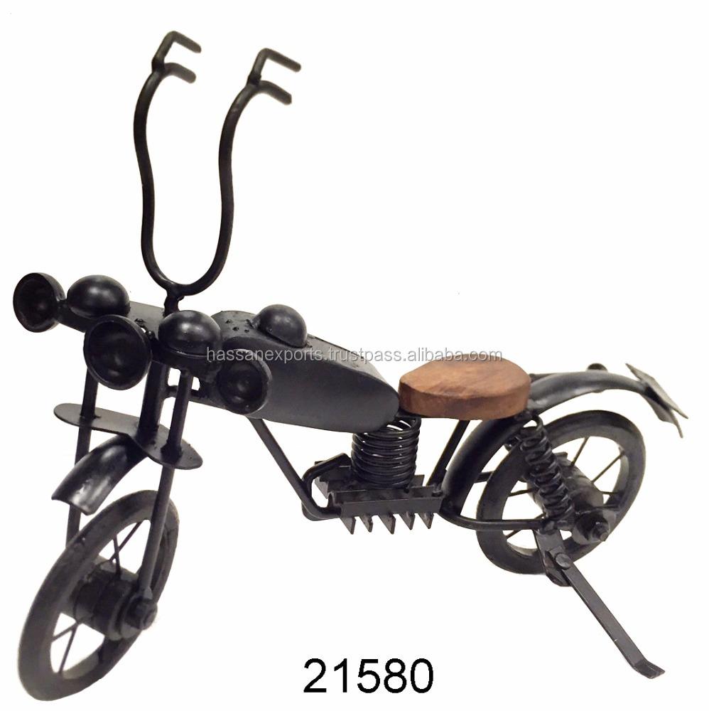 Decorative Iron Motorcycle, Antique Iron Bike